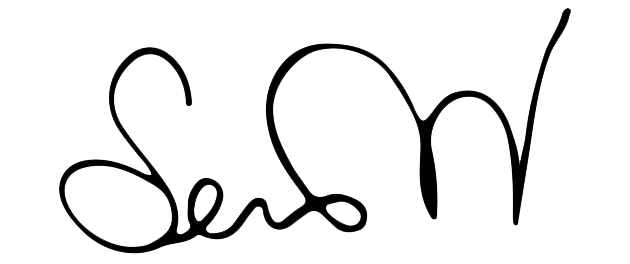 Serena Williams signature